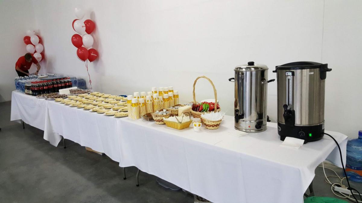 Кофе-брейк на заводе Термекс